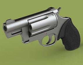 3D printable model Taurus Revolver 1-1 Scale