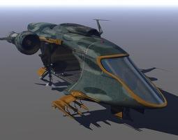 trooper transport 3d model