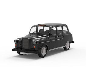 3D model Classic London Cab