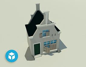 Low poly Kind of a shop 3D model