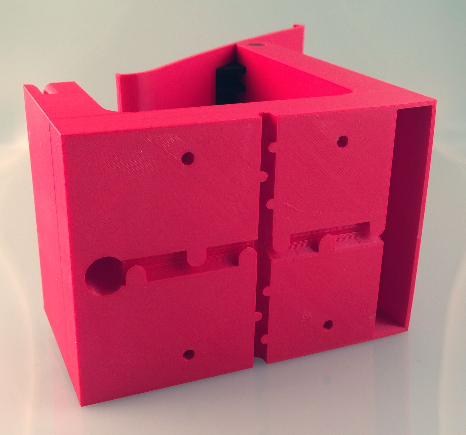 ipad stand for square card reader 3d model 3d printable