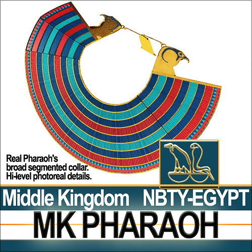 Ancient Egypt Pharaoh MK Props Poser Daz 3D model OBJ MTL 3DS C4D ...