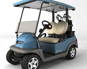 golf 3D Golf Cart