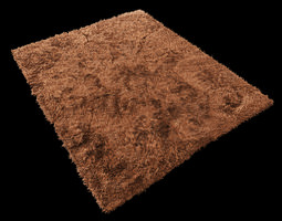 3d model carpet fur