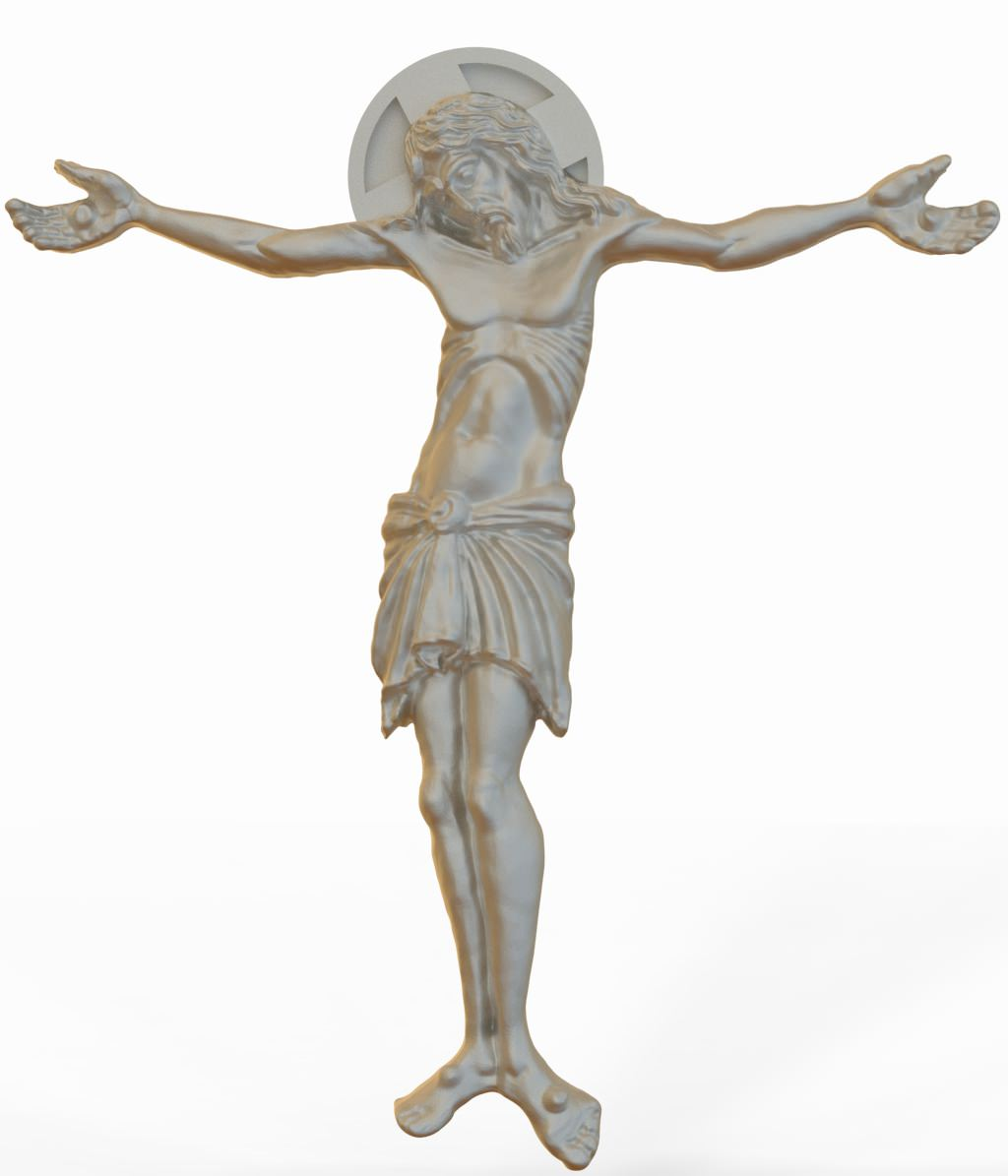 3D Model Jesus Christ STL 3D Model 3D Printable STL