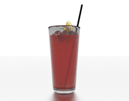 Virgin Mary Beverage 3D model
