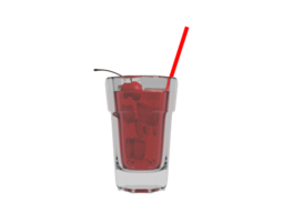 Shirley Temple Beverage 3D
