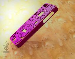 diamonds iphone 5 case 3d print model