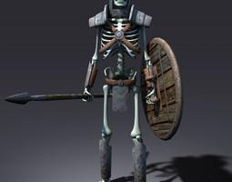 Fantasy Skeleton 3D asset