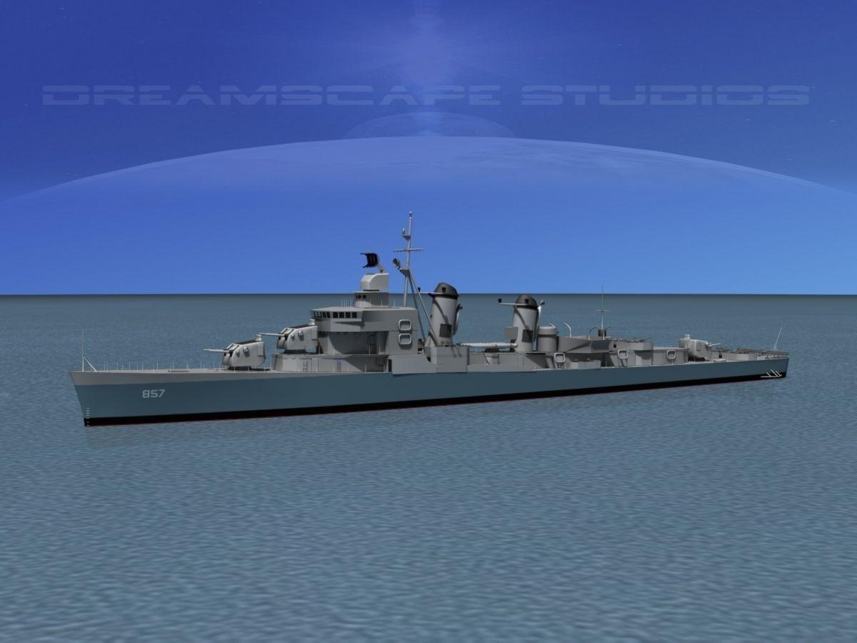 Sumner Class Destroyer DD-857 USS Bristol
