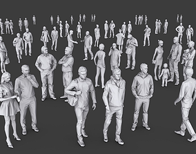 Complete Lowpoly People Pack 3D model