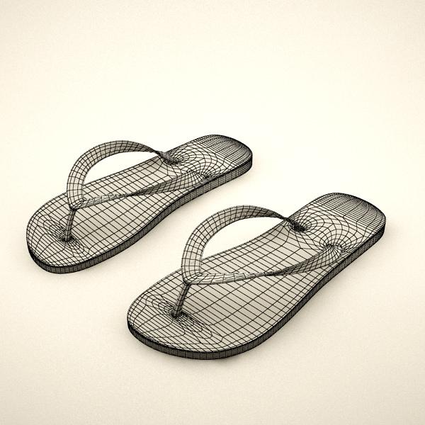 a0fff6c772ce0 Flip Flops 3D model