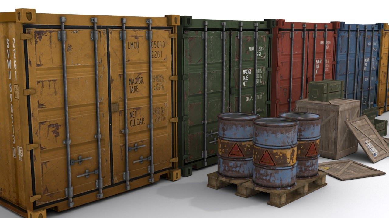 Cargo Asset Set
