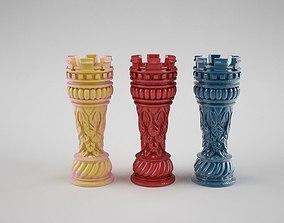 3D print model Tower chess 1