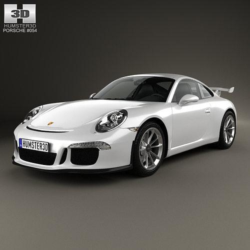 Porsche 911 991 Carrera GTR3 2013 3D Model MAX OBJ 3DS FBX