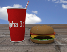 Cheeseburger 3D