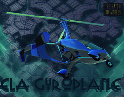 3D model ELA Gyroplane