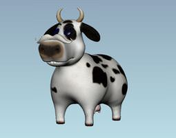 3D model cute cow