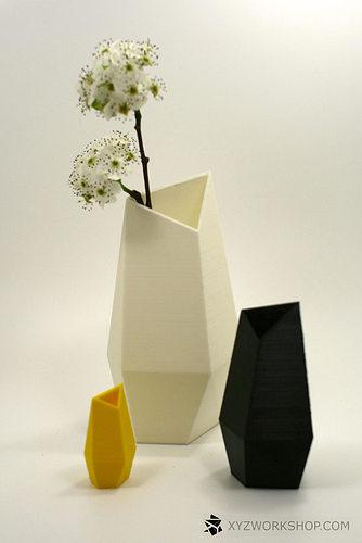 Facet Vase By Xyz Workshop 3d Print Model Cgtrader