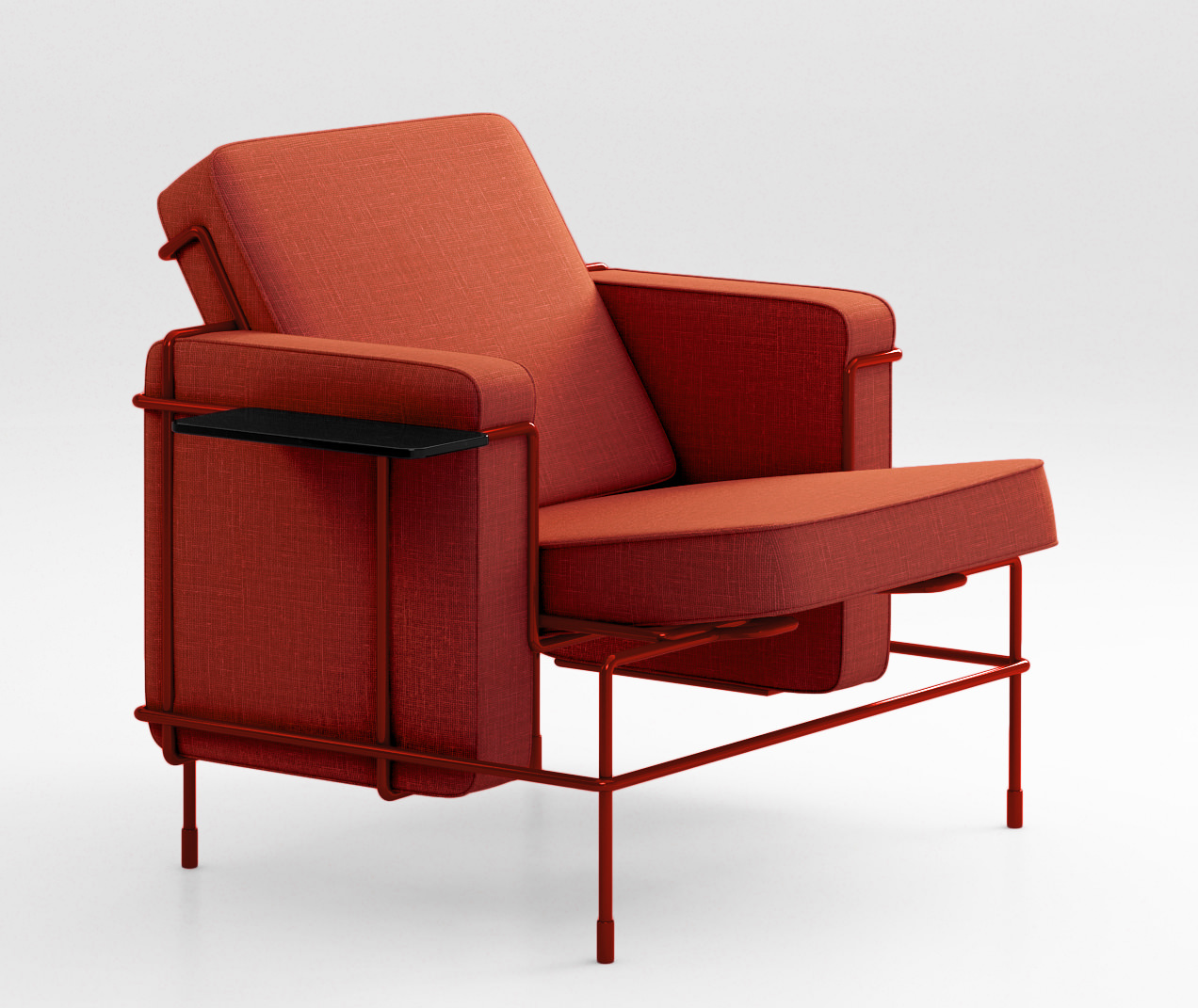 Magis Traffic Sofa Armchair Bench Lounge 3D Model MAX OBJ
