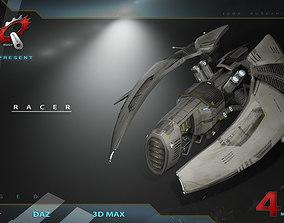 3D Zeneca racer