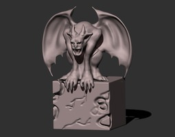 3D printable model Gargoyle 2