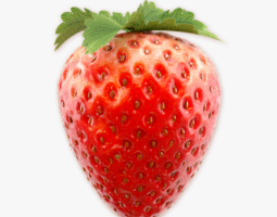 strawberry 3 3d model max obj fbx
