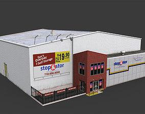 Self Storage Warehouse 3D asset