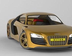 r8 AUDI R8 3D Model