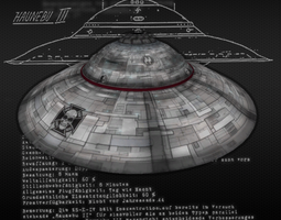 3D model Haunebu III