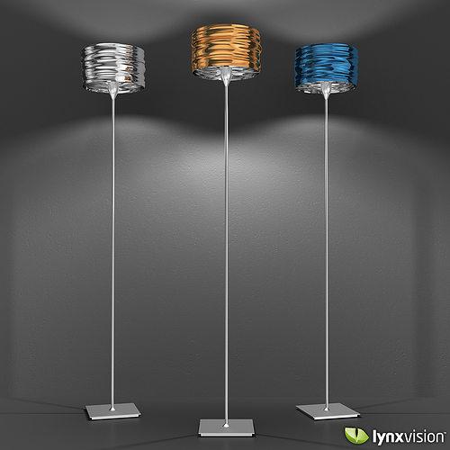 ... Aqua Cil Terra Floor Lamp   Artemide 3d Model Max Obj Fbx C4d Lwo Lw  Lws ...