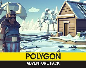 POLYGON - Adventure Pack 3D asset