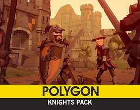 3D model POLYGON - Knights Pack