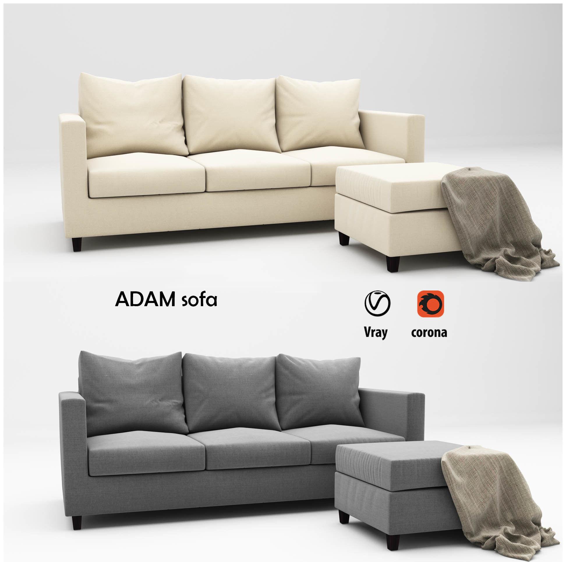 Adam sofa