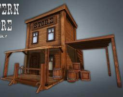 Western Store Goods 3D asset