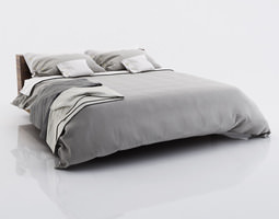 3D Bed linen with blankets