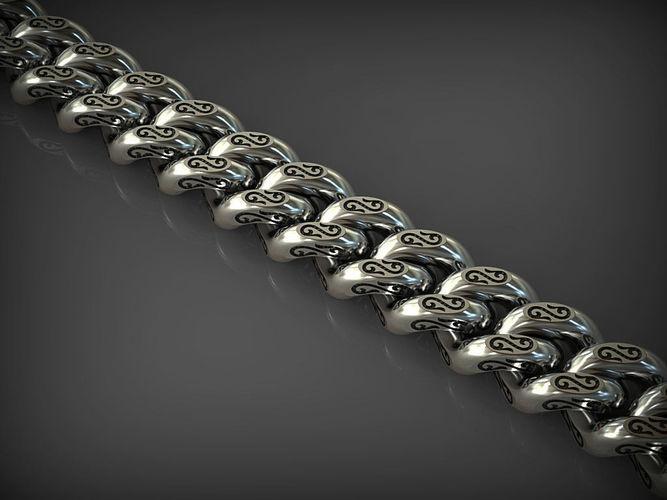 chain link 103 3d model stl 3dm 1