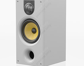 Bowers and Wilkins 686 S2 White 3D model