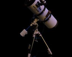 3d model meade lxd75 schmidt-newtonian 10 telescope static version