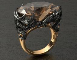 CABALLO ring RG0026 3D print model