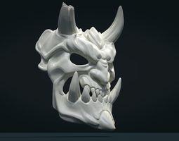 Demon Mask 2 3D printable model