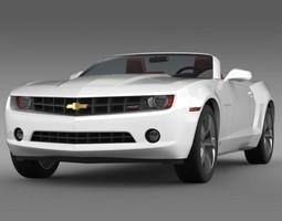 Chevrolet Camaro convertible 2011 3D model