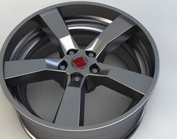 Wheel Autobot BumbleBee 3D model