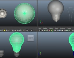 Laser engravnig Light Bulp 3D printable model