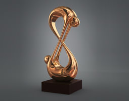 Abstract Figurine 3D print model