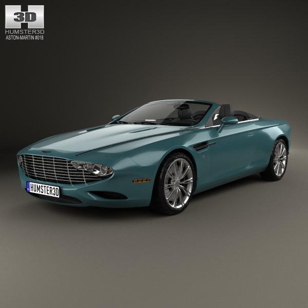 Aston Martin DB9 Spyder Zagato Centennial 2014
