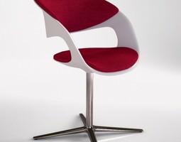 walter knoll lox chair 3d model