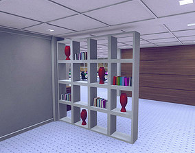 Decorated Shelve Pack 3D model