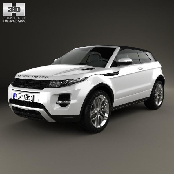 Land Rover Range Rover Evoque Convertible 2013