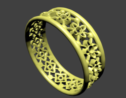 Cross Ring 3D printable model